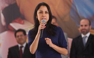 Aprobación de Nadine Heredia cae 7 puntos, según Ipsos