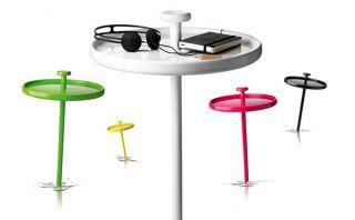 Mira la mesa 'tachuela' que puedes 'clavar' en cualquier sitio