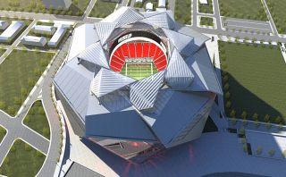 ¿Estadio con forma de rosa? Mira este inusual proyecto en EE.UU
