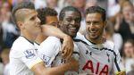 Tottenham vapulea al Queens Park Rangers y lidera la Premier - Noticias de emmanuel adebayor