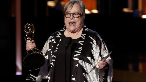 Kathy Bates ganó un premio Emmy. (Foto: Reuters)