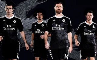 Real Madrid presenta innovadora camiseta negra con dos dragones