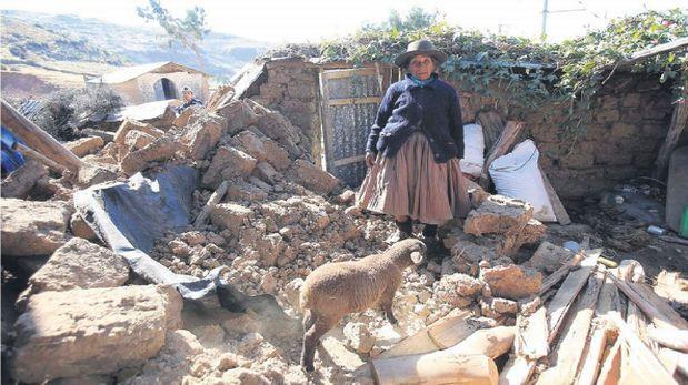 Temblor en Ayacucho: a 149 se incrementó cifra de damnificados