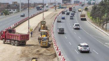 Tránsito en Vía de Evitamiento se restringirá por obras