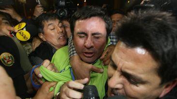 Paul Olórtiga y su accidentada llegada a Requisitorias [Fotos]