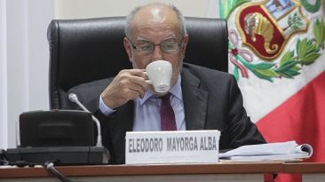 """Ministro Eleodoro Mayorga: """"No he pensado en renunciar"""""""