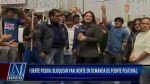 Vecinos bloquean Panamericana Norte y exigen puentes peatonales - Noticias de atropello
