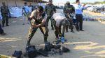 Las tres toneladas de cocaína incautadas en Huanchaco [Fotos] - Noticias de polícia antidrogas