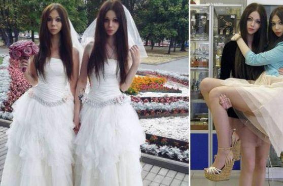 A quién le gustan las novias gemelas f70 7