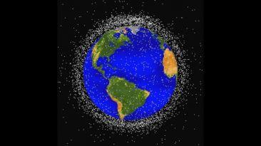 Acuerdo para detectar basura espacial