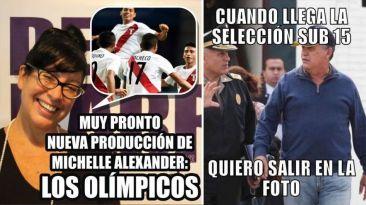 Los memes del título histórico de Perú en Nanjing 2014