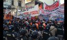 Paro en Argentina: Grupos de izquierda bloquean Buenos Aires