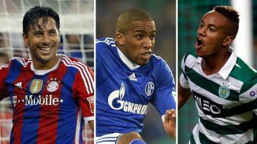 Champions: Pizarro, Farfán y Carrillo ya conocen a sus rivales