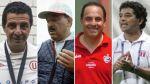Los técnicos peruanos que dieron títulos al fútbol nacional - Noticias de fútbol nacional