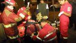Choque entre bus y una combi deja diez heridos en Villa María - Noticias de accidente de bus