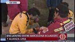 Hinchas de Alianza Lima y Barcelona se enfrentaron en Matute - Noticias de barcelona de ecuador
