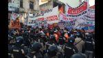 Paro en Argentina: Grupos de izquierda bloquean Buenos Aires - Noticias de