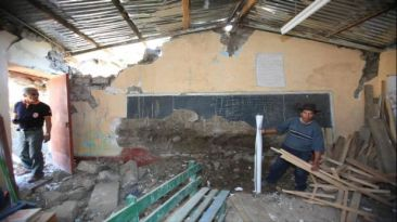 Temblor en Ayacucho afectó 87 colegios