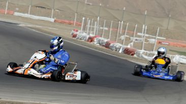 Este sábado es la segunda fecha del Lima Karting Club