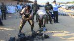 Sigue extracción de cocaína hallada en piezas de carbón [FOTOS] - Noticias de incautaciones