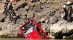 Policía recuperó cuerpos de personas que cayeron al Río Mantaro - Noticias de pasajero