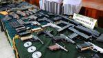 El arsenal de armas incautado por la PNP en el Rímac [Fotos] - Noticias de incautaciones