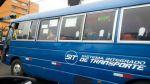 Pro Transporte no aclara confusión por cústeres azules en Lima - Noticias de multa