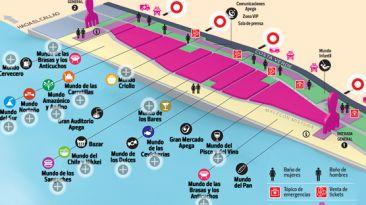 Mistura 2014: mira el mapa interactivo de la feria gastronómica