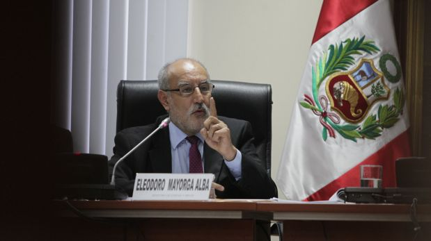 """Eleodoro Mayorga: """"Yo abogué por el interés nacional"""""""