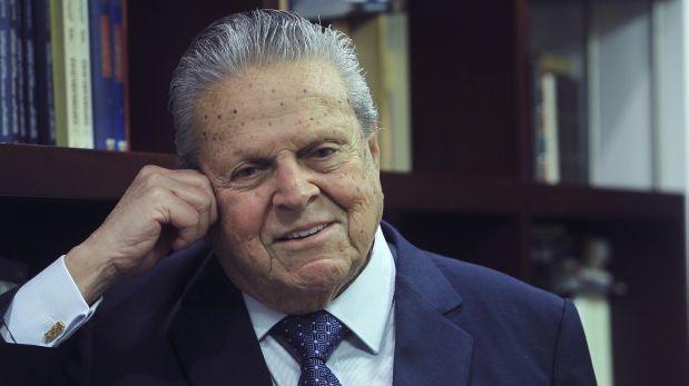 Políticos lamentan el fallecimiento de Felipe Osterling