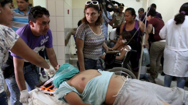 Moquegua: identifican a fallecidos tras vuelco de bus a abismo