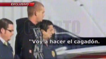Van der Sloot amenazó con unirse a Carlos Timaná en Challapalca