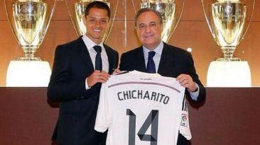 Oficial: 'Chicharito' Hernández es fichado por el Real Madrid