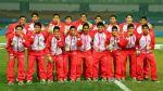Sub 15 de Perú que consiguió el oro en Nanjing llega hoy a Lima - Noticias de cabo verde sub 15