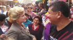 Pilar Nores acompañó a Enrique Cornejo en recorrido por mercado - Noticias de elecciones municipales del 2014
