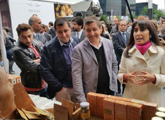 Los hermanos Roca inauguran bioferia de PromPerú