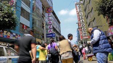 Sunat rematará locales ubicados en emporio comercial de Gamarra