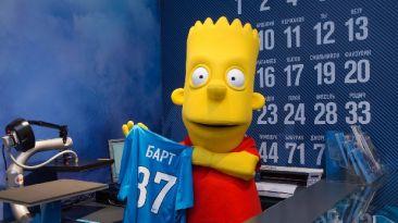 Insólito: Bart Simpson firmó por el Zenit de Rusia
