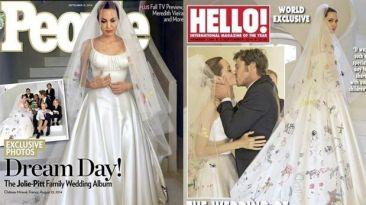 La boda de Angelina Jolie y Brad Pitt: mira las primeras fotos