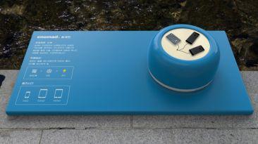 Ayuda natural: Coreanos cargan celulares con el poder del agua