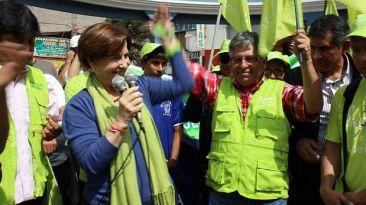 """Villarán sobre Castañeda: """"Ojalá que todos podamos competir"""""""