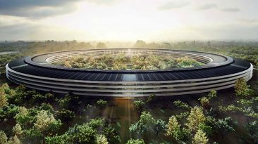 VIDEO: Drone captura la construcción del nuevo campus de Apple