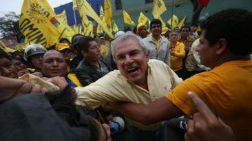 """Castañeda tras marcha: """"Estamos rechazando esa guerra sucia"""""""