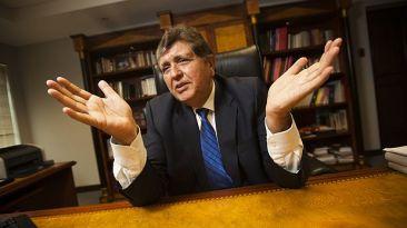 Juez deja sin base pedido de denuncia constitucional a García