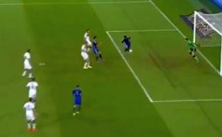 El Kun Agüero le anotó a Alemania tras genial pase de Di María