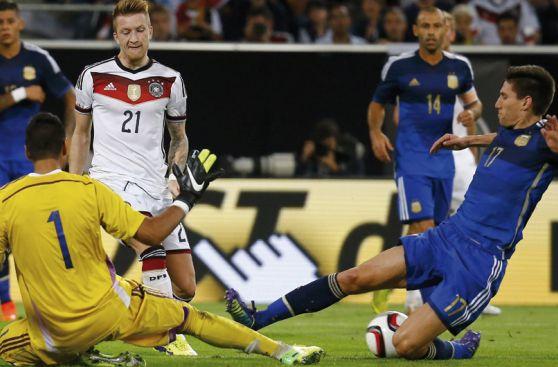Argentina se cobró revancha del Mundial ante Alemania