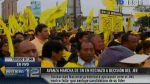 Mujer dijo que la llevaron con engaños a marcha por Castañeda - Noticias de agua potable en lima