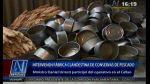 Callao: cierran fábrica clandestina de conservas de pescado - Noticias de sarita colonia