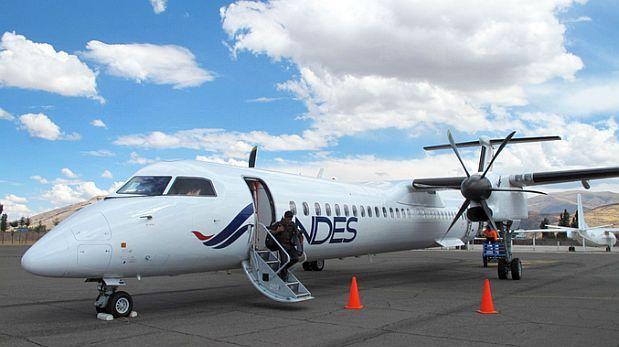 Andes air entr 243 a sector aerocomercial y volar 225 a jauja y cusco