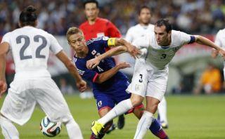 Uruguay derrotó 2-0 a Japón con goles de Cavani y Hernández